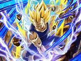 Indomitable Fighting Spirit Super Saiyan 2 Vegeta