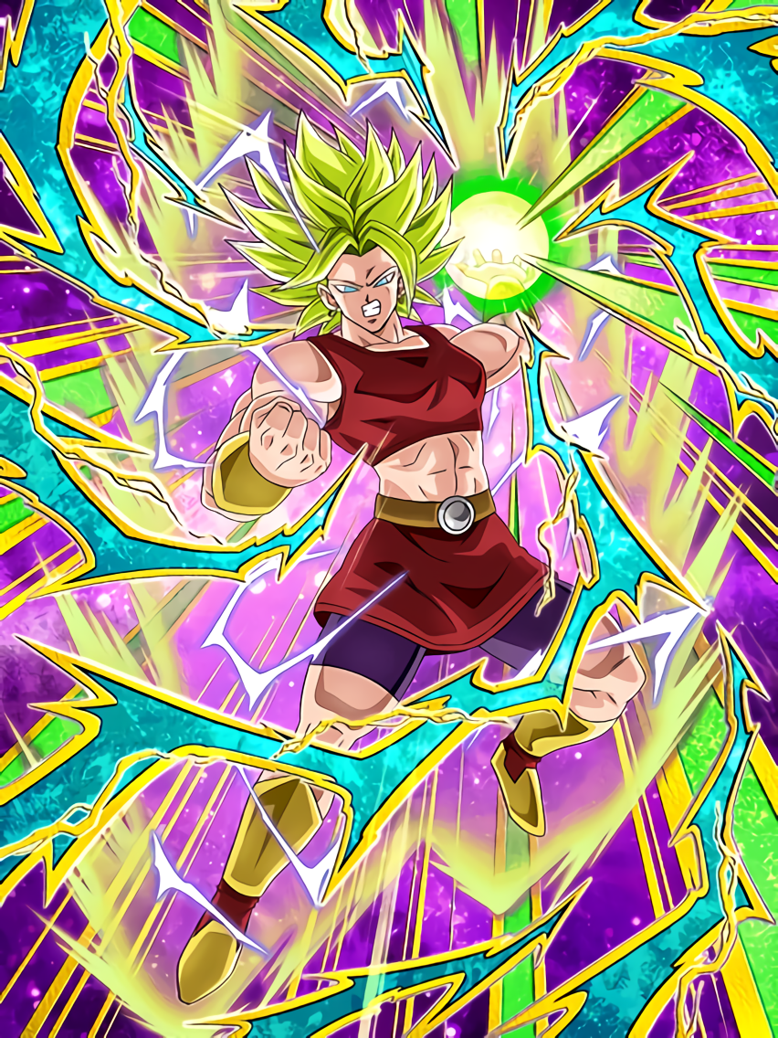 First Step as a Warrior Super Saiyan 2 Kale