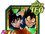 The Great Battle of the Otherworld Goku (Angel) & Vegeta (Angel)