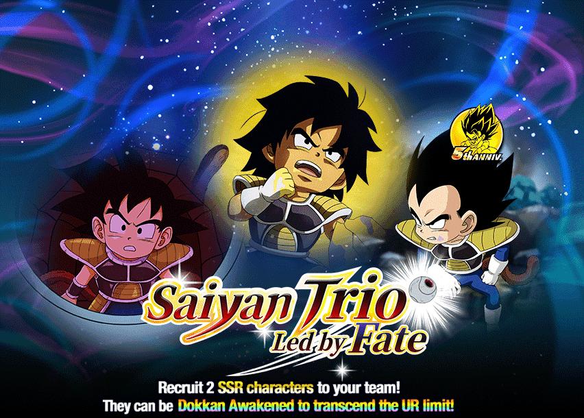 Saiyan Trio Led by Fate