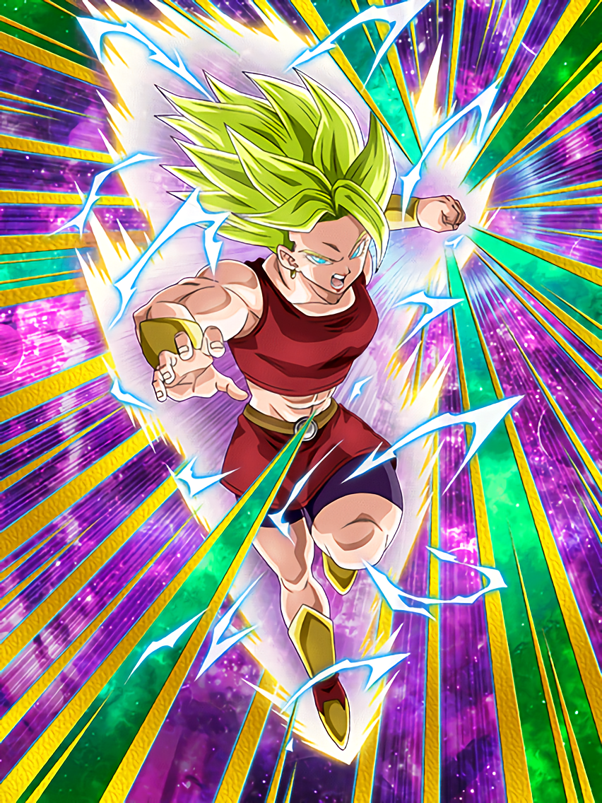 Well-Honed Body and Mind Super Saiyan 2 Kale