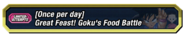 Goku's Food Battle
