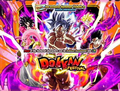 Dokkan Festival Goku Ultra Instinct Dragon Ball Z Dokkan Battle Wiki Fandom