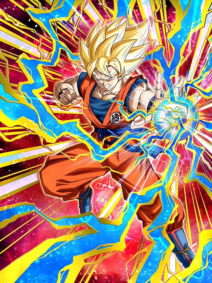 Accrued Strength Super Saiyan Goku