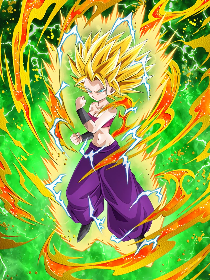 Brilliant Battle Intuition Super Saiyan 2 Caulifla Dragon Ball Z Dokkan Battle Wiki Fandom