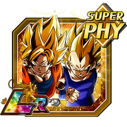 Fused Fighting Force Super Saiyan Goku (Angel) & Super Saiyan Vegeta (Angel)