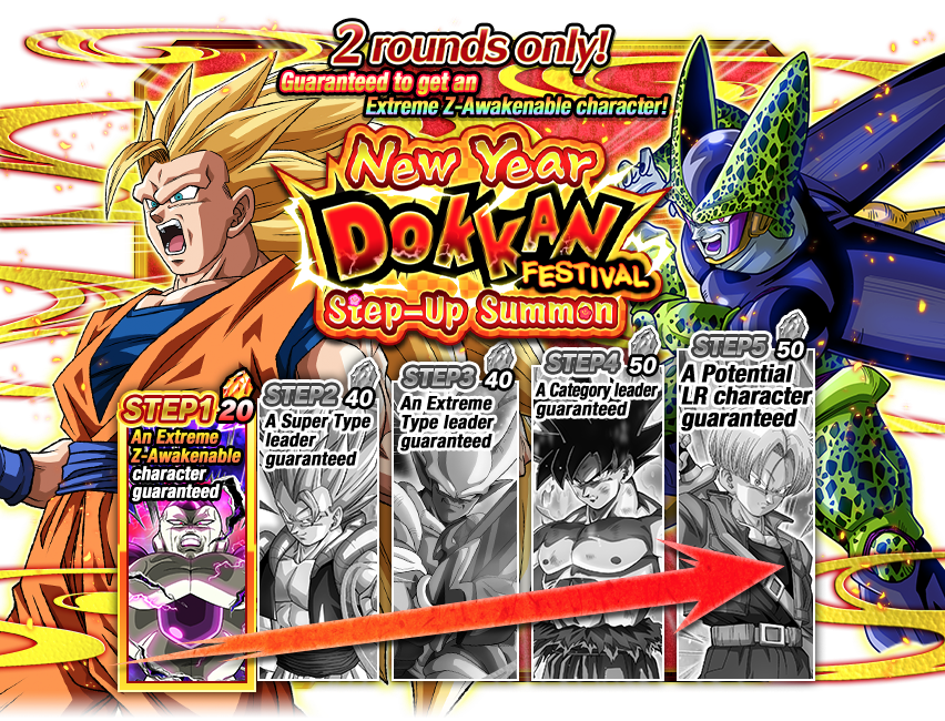 Step-Up Dokkan Festival: New Year (2019)