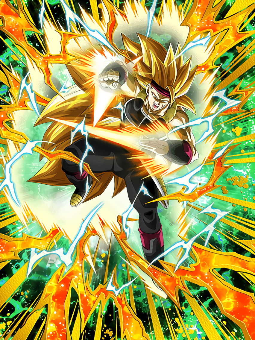 Mark of Saiyan Strength Super Saiyan 3 Bardock