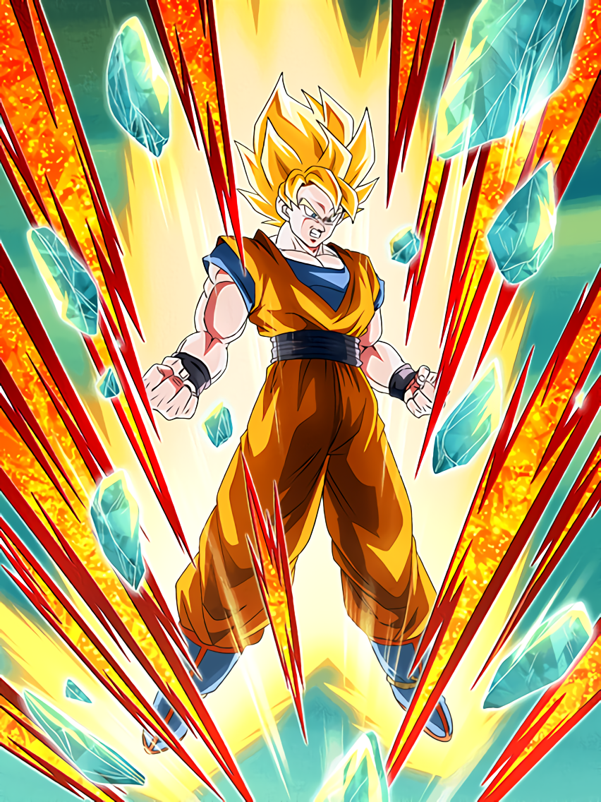 Blazing Warrior Super Saiyan Goku