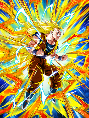 Resolve For The Final Battle Super Saiyan 3 Goku Dragon Ball Z Dokkan Battle Wiki Fandom