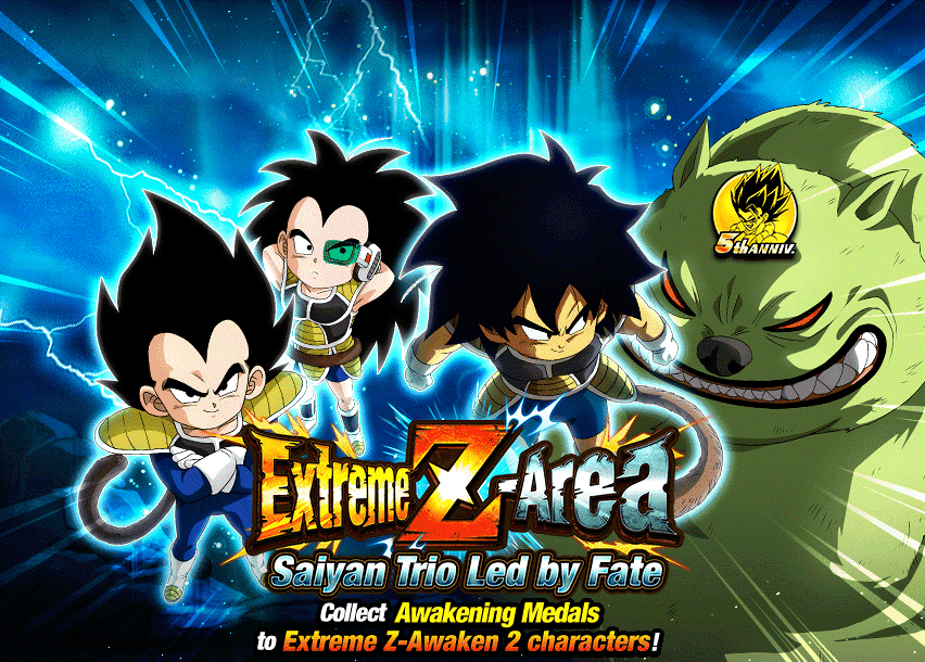 Extreme Z-Area: Saiyan Trio Led by Fate