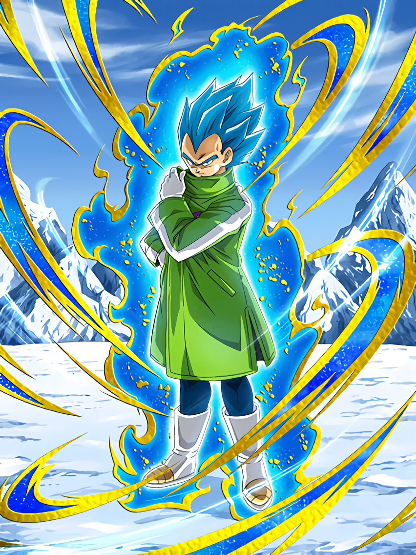 The Power of a God Unleashed Super Saiyan God SS Vegeta