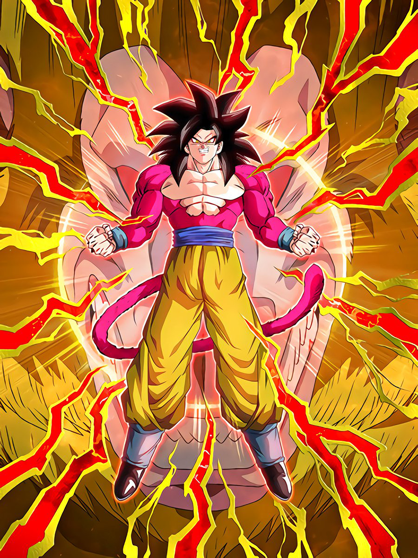 Transcendental Saiyan Power Super Full Power Saiyan 4 Goku