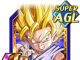 Technique vs. Strength Super Saiyan 2 Goku (GT)