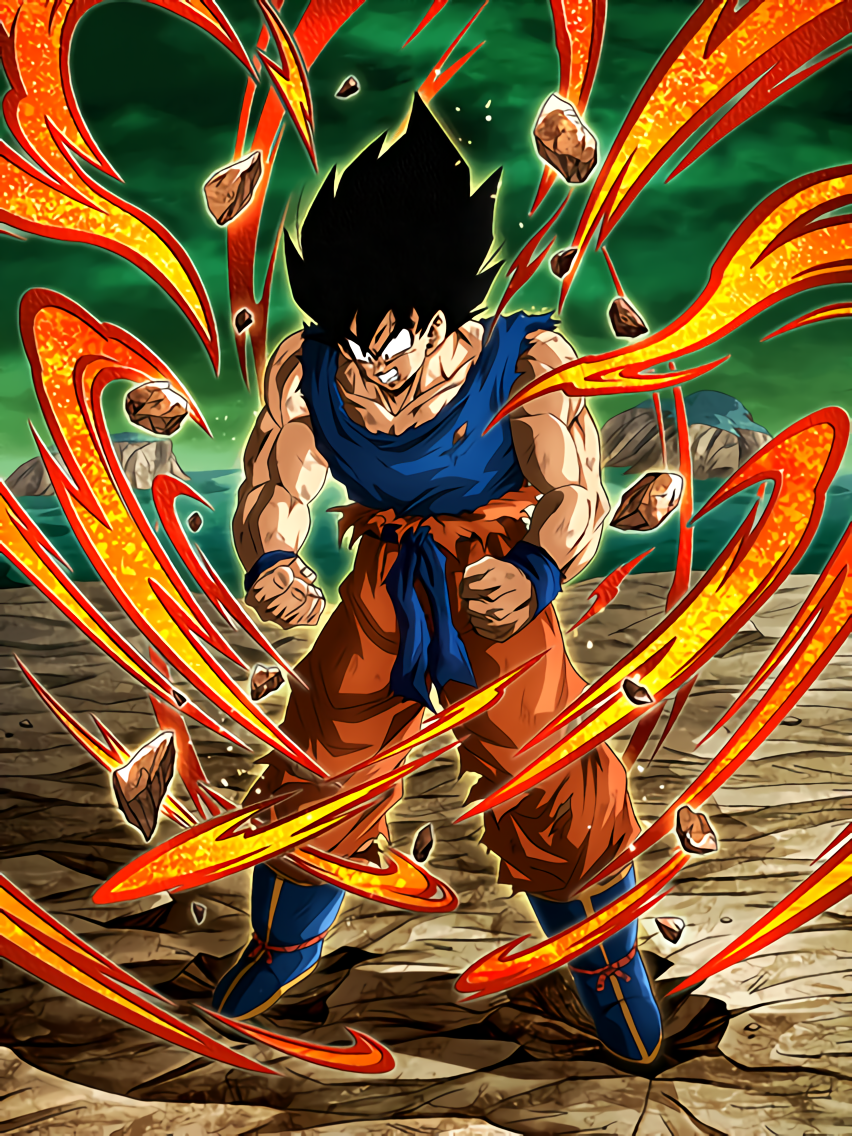 Pinnacle of Fury Goku