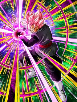 End Of The Human World Goku Black Super Saiyan Rose Dragon Ball Z Dokkan Battle Wiki Fandom