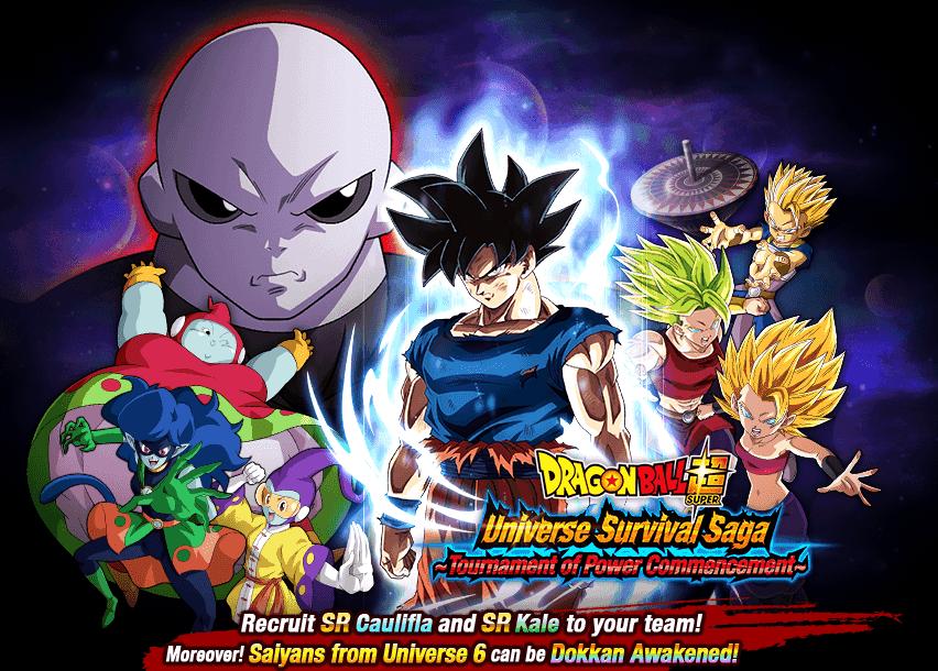 Dragon Ball Super: Universe Survival Saga - Tournament of Power Commencement