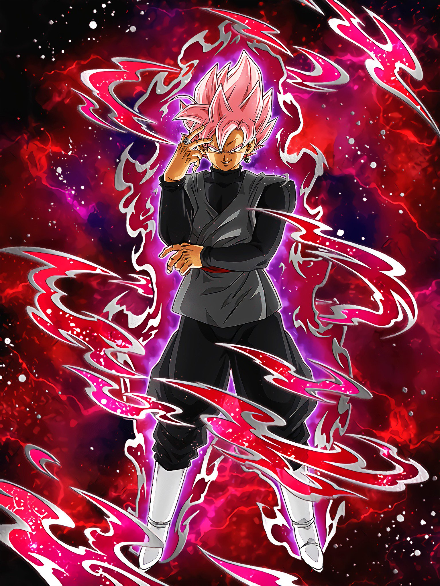 Beautiful Domination Goku Black (Super Saiyan Rosé)