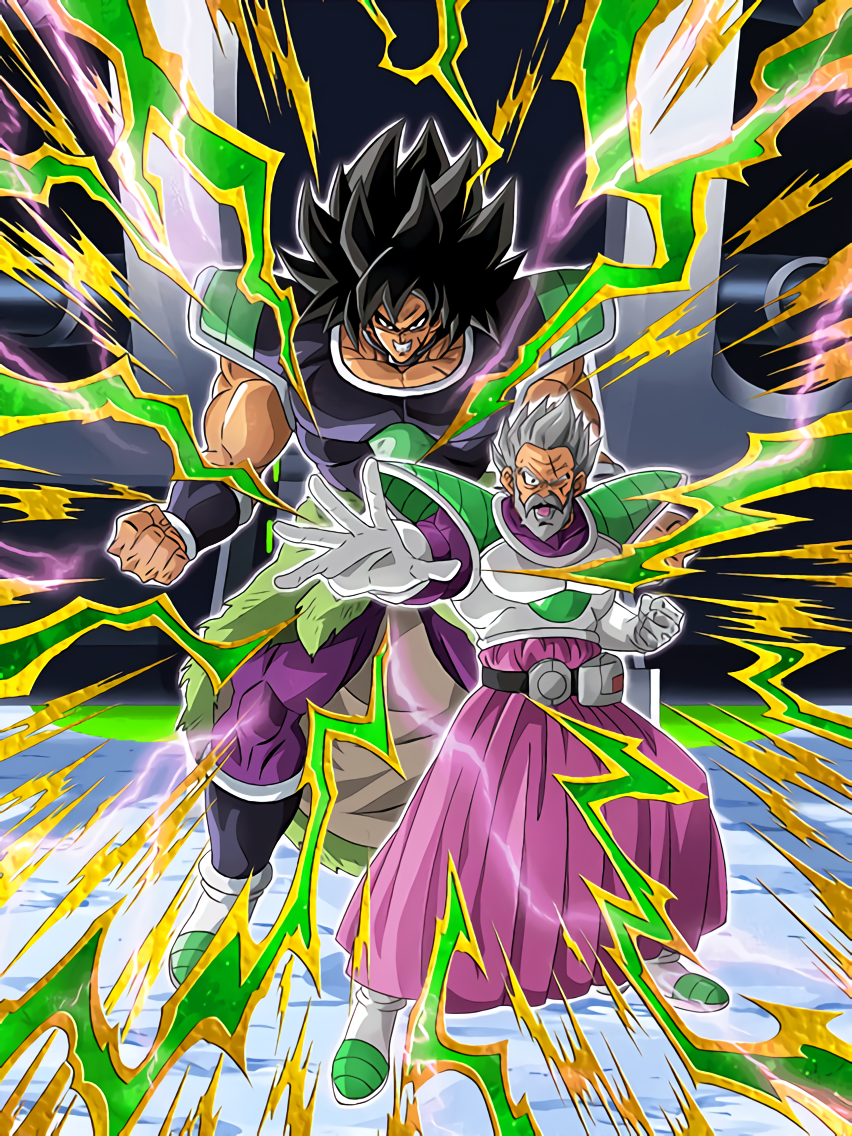 Troublesome Father and Son Paragus & Broly