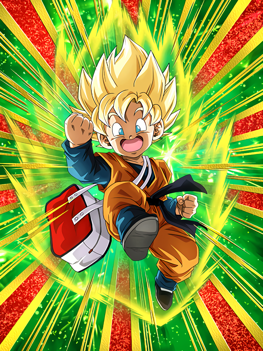 Curiosity-Filled Struggle Super Saiyan Goten (Kid)