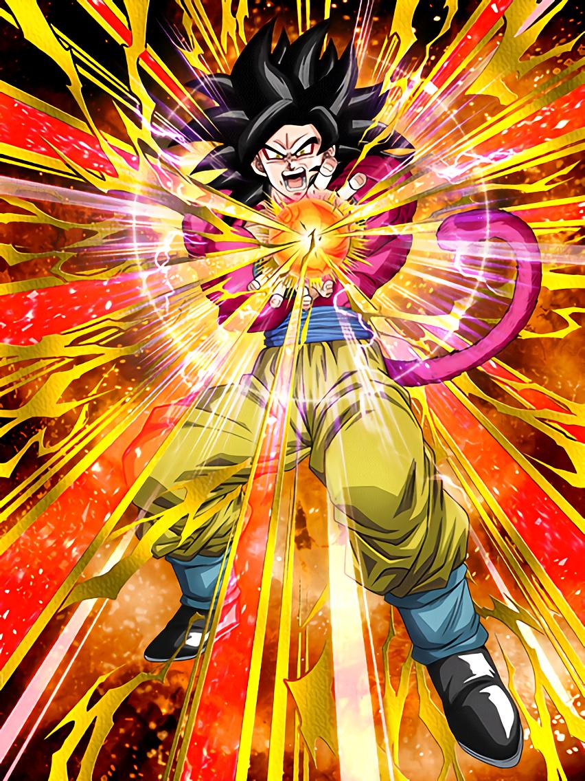 MiggateNoBacon/STR SSJ4 Goku EZA