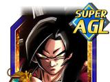 Apex of Supreme Saiyan Power Super Saiyan 4 Goku