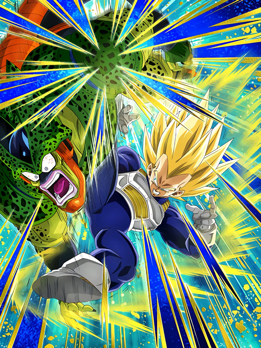 New Power from Training Super Vegeta