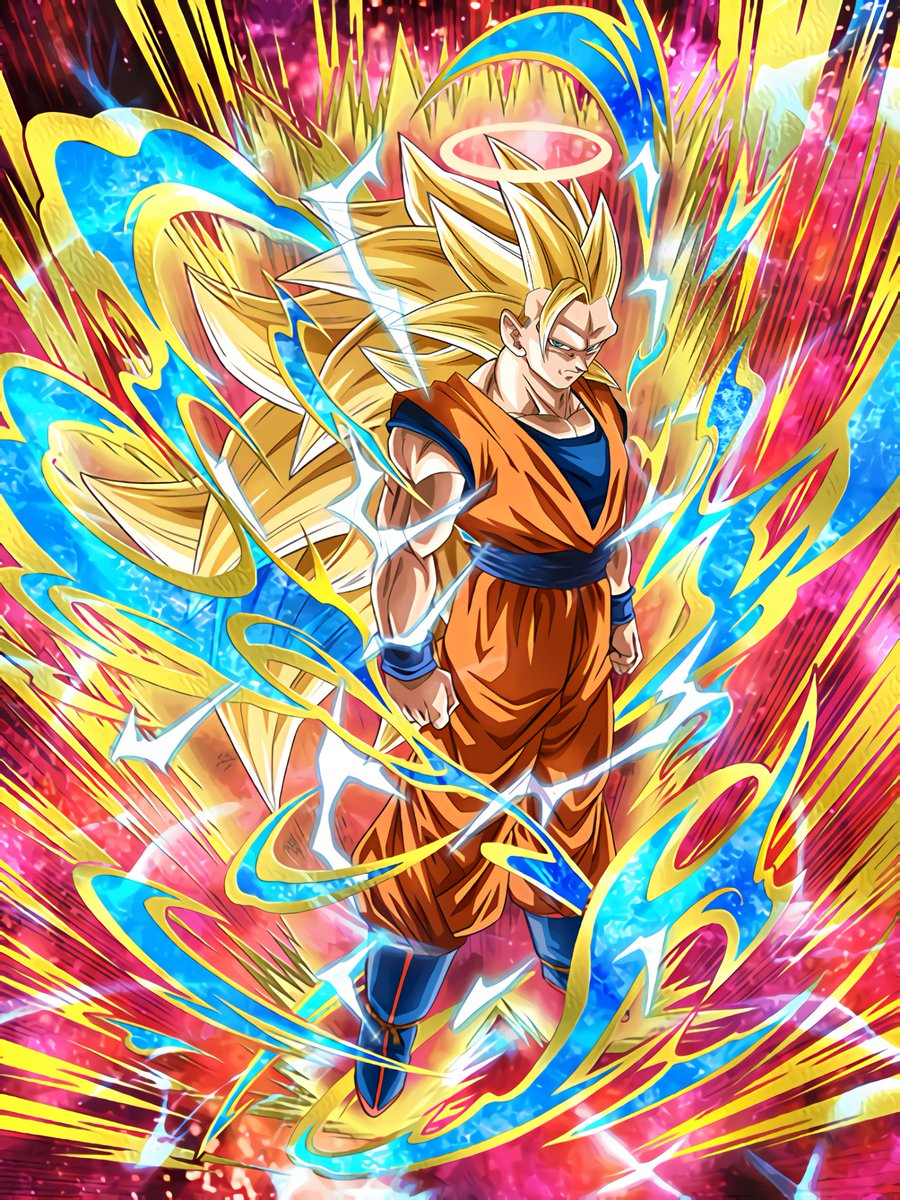 Astounding Transformation Super Saiyan 3 Goku Angel Dragon Ball Z Dokkan Battle Wiki Fandom
