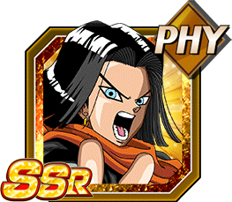 Killing Machine's Sneer Android 17 (Future)