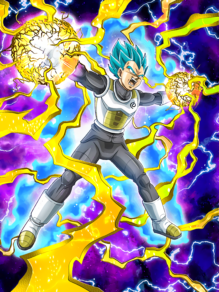 Proud Heir Super Saiyan God SS Vegeta