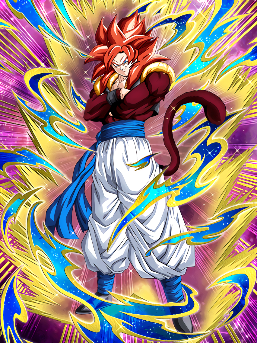 The Supreme Fusion Super Saiyan 4 Gogeta