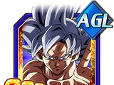 A New Appearance Shining in Silver Goku (Ultra Instinct)