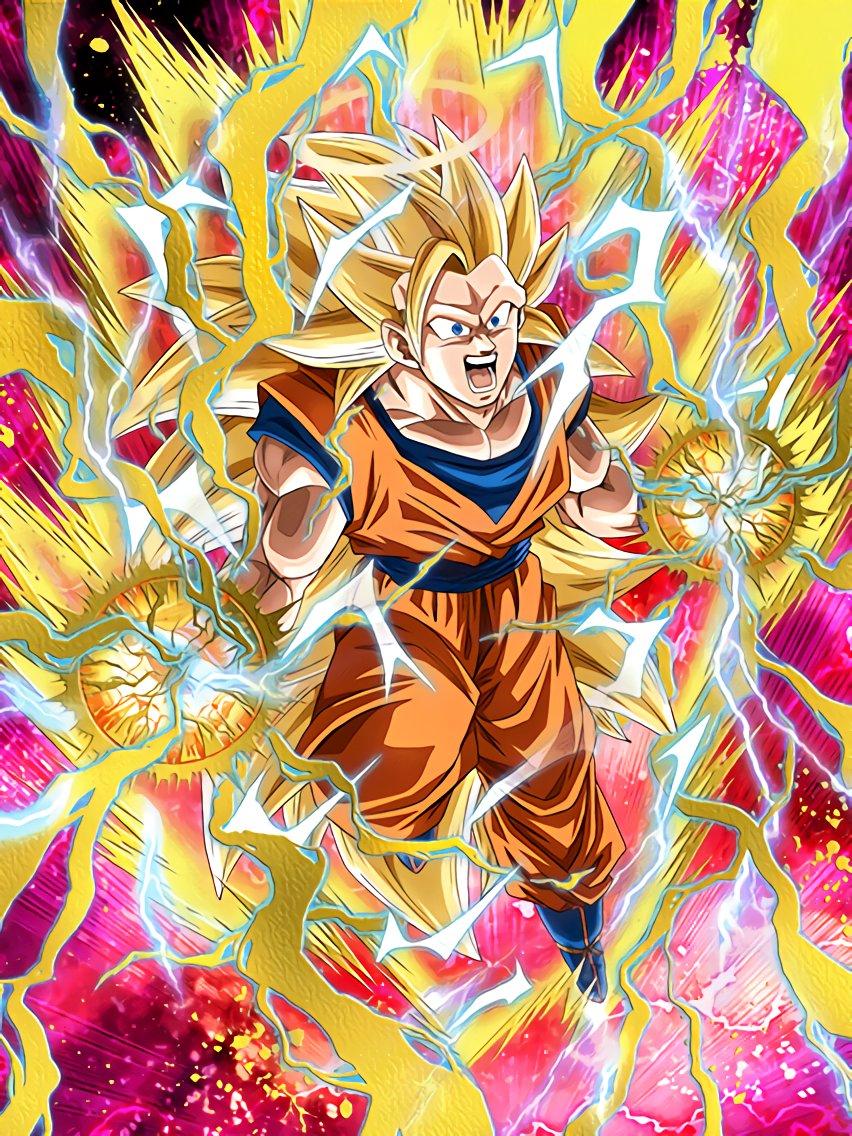Burgeoning Strength Super Saiyan 3 Goku (Angel)