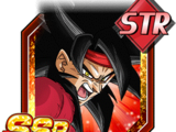 Wandering Super Warrior Super Saiyan 4 Bardock