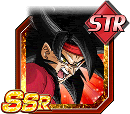 Wandering Super Warrior Super Saiyan 4 Bardock