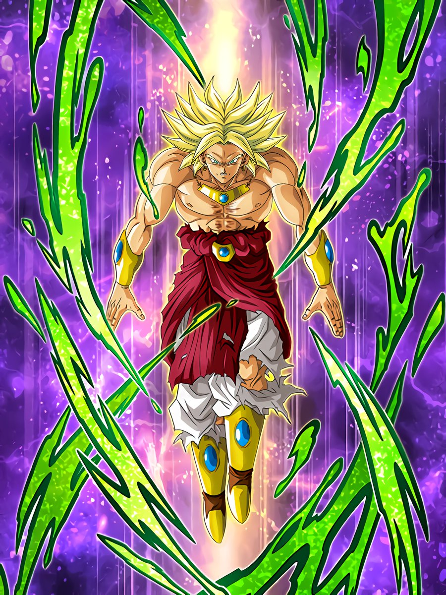 Awakened Demonic Warrior Super Saiyan Broly
