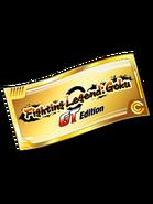 Fighting Legend Goku GT Ticket