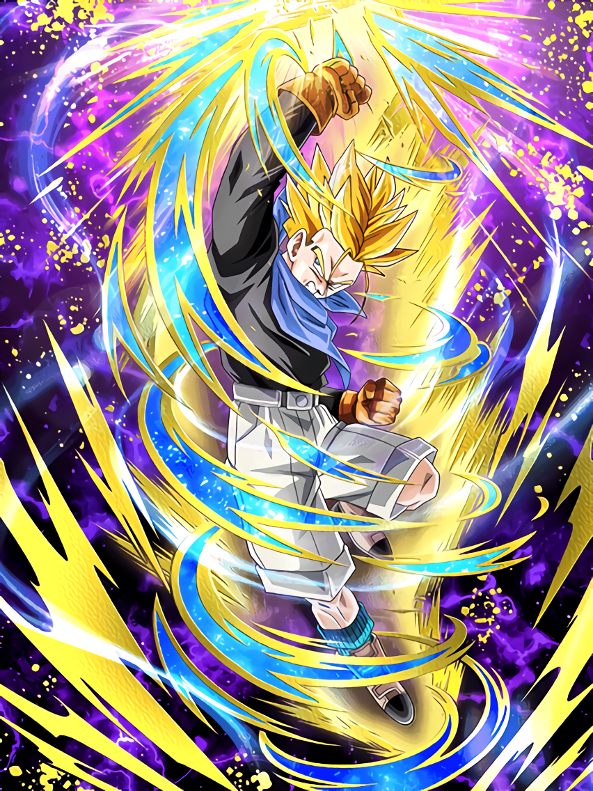 Brains and Brawn Combined Super Saiyan Trunks (GT)