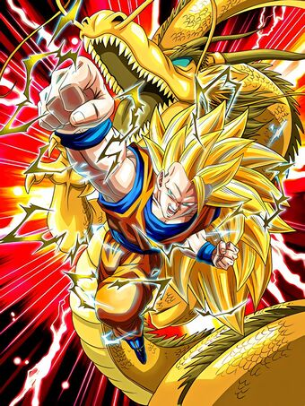 Mystery Super Technique Super Saiyan 3 Goku Dragon Ball Z Dokkan Battle Wiki Fandom