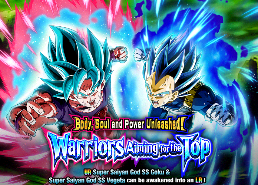 Release Your Full Power! Warriors Aiming to Be the Strongest