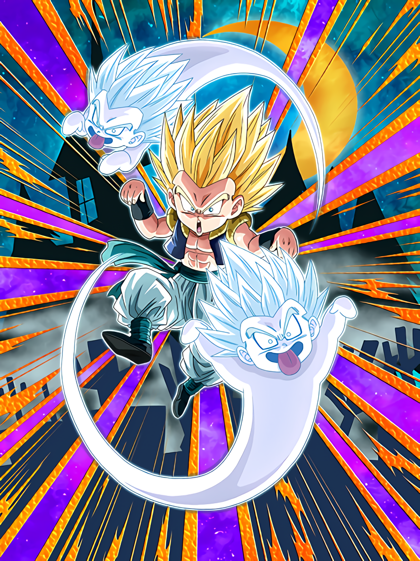 An Absurd Plan Super Saiyan Gotenks & Ghost