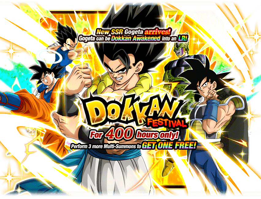 Dokkan Festival Gogeta Dragon Ball Z Dokkan Battle Wiki Fandom