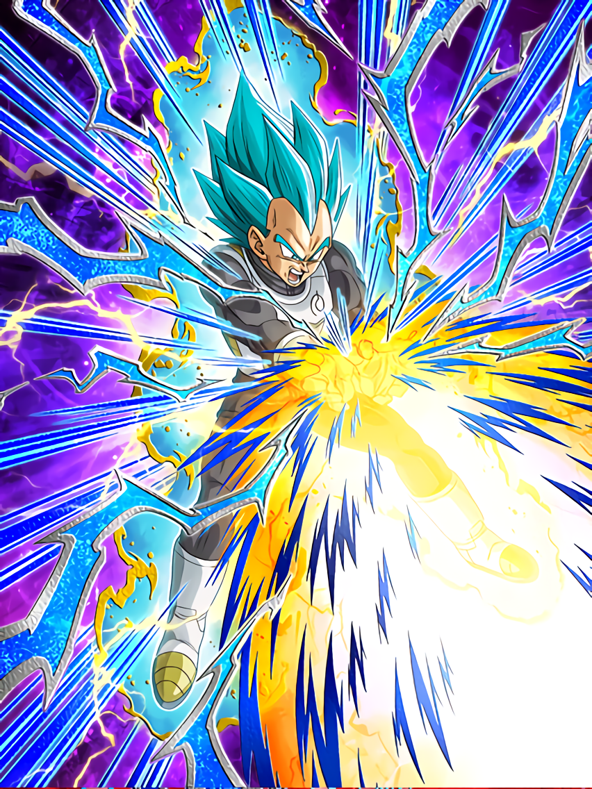 Definitive Strength Super Saiyan God SS Vegeta