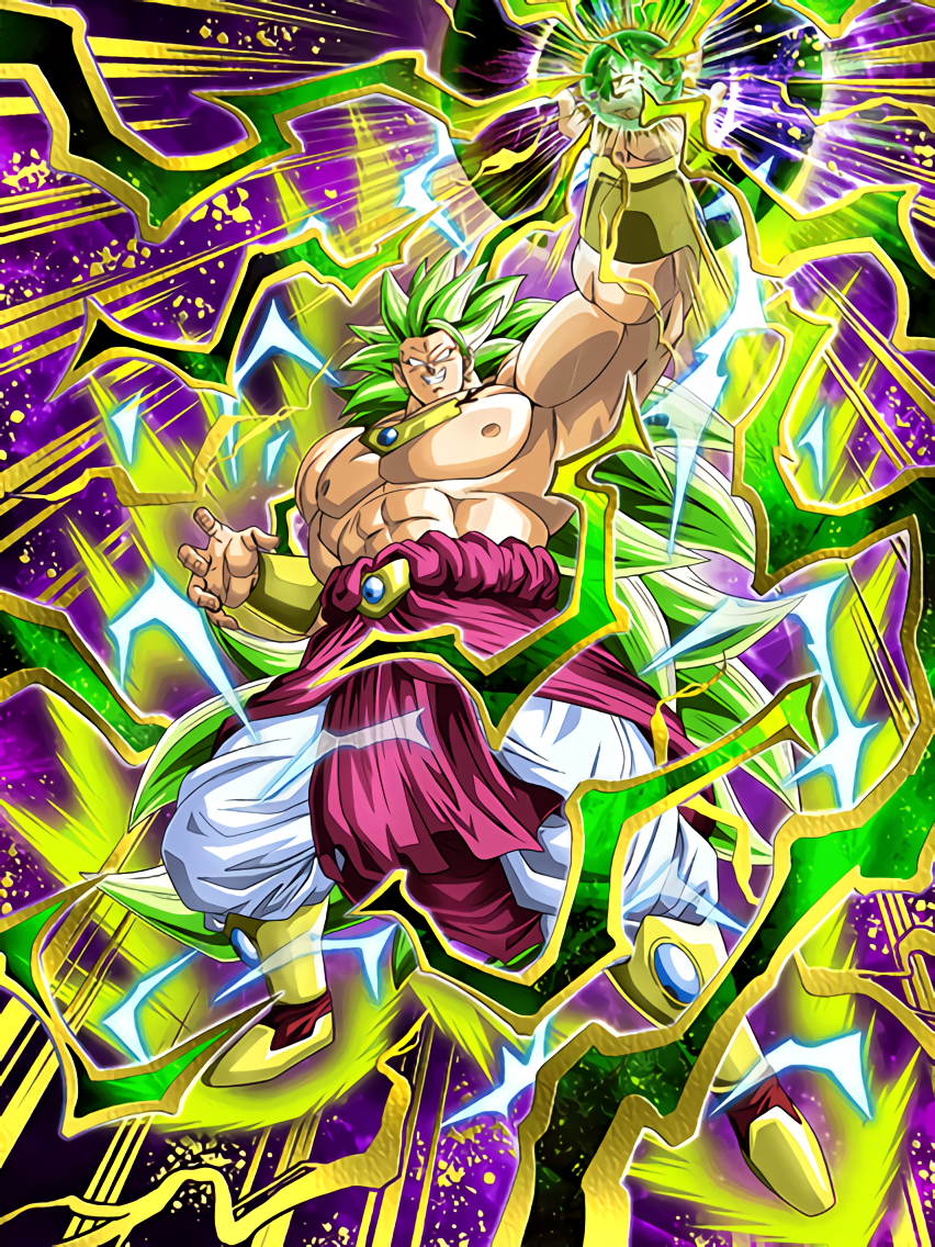 Mythic Evolution Super Saiyan 3 Broly