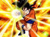 Overflowing Resolve Goku