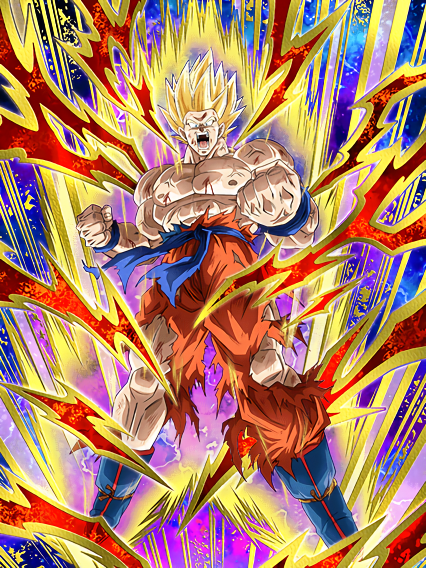 Zealous Roar Super Saiyan Goku