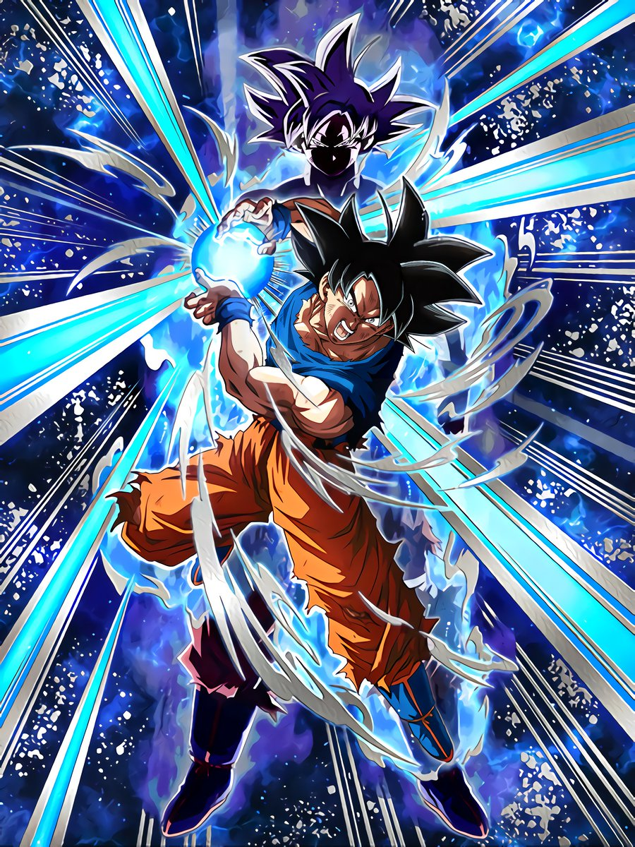 Transdimensional Instinct Goku (Ultra Instinct -Sign-)