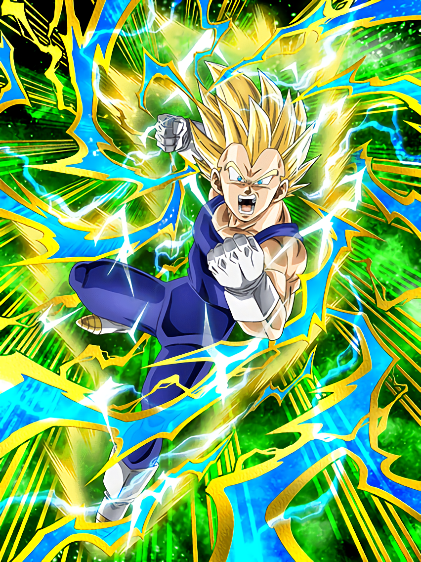 Everything At Stake Super Saiyan 2 Vegeta