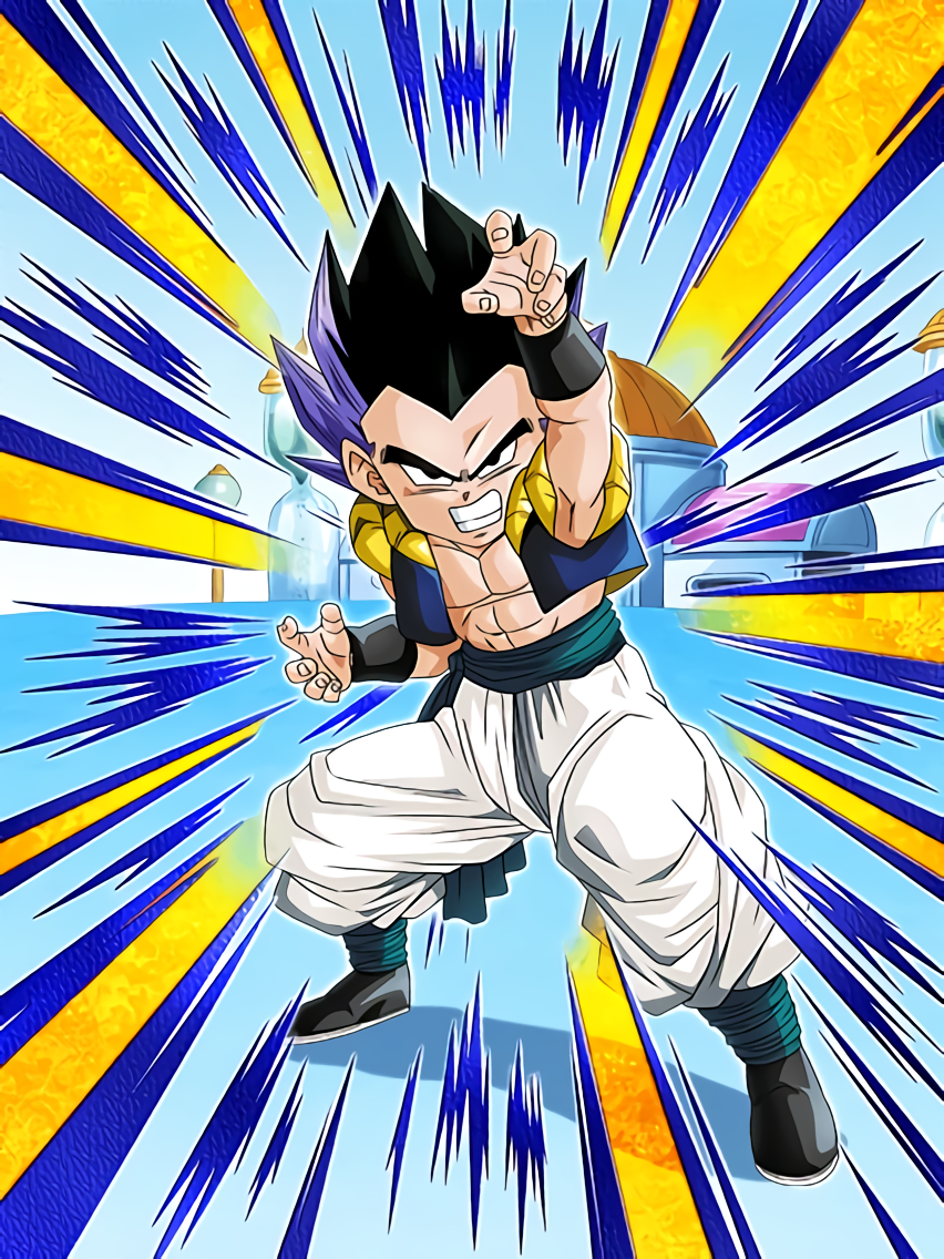 Astounding Fusion Power Gotenks