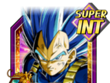 True Warrior Race Super Saiyan God SS Evolved Vegeta